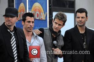 New Kids On The Block, Danny Wood, Joey Mcintyre and Jordan Knight