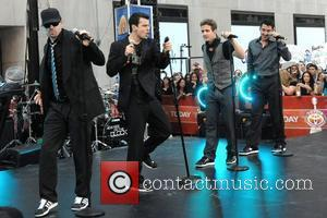 Donnie Wahlberg, Jordan Knight, Joey McIntyre and Jonathan Knight New Kids on the Block perform live on 'The Today Show's...