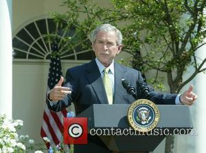 President George W. Bush urged Congress while speaking from the Rose Garden to approve funds to fight AIDS in Africa...