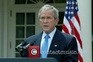 US President George W. Bush  announces his decision to lift an executive order banning offshore drilling on the outer...