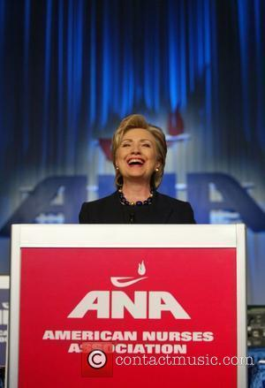 Hillary Clinton addressed the ANA, American Nurses Association, biennial House of Delegates at the Washington Hilton Hotel Washington DC, USA...