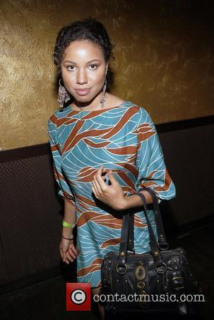 Jurnee Smollett attends 'An Evening with Dave Chappelle for Kevin Powell for Congress' at Eugene New York City, USA -...