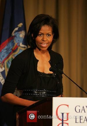 Michelle Obama,  wife of presumptive Democratic nominee Barack Obama, Michelle Obama gives the keynote address at the 'Gay and...
