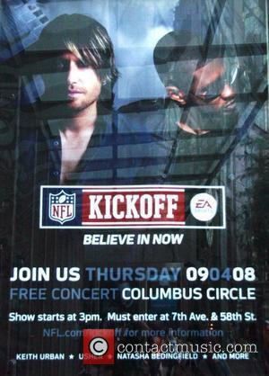 Poster, Keith Urban, Natasha Bedingfield and Usher