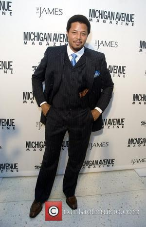 Terrence Howard Red Carpet Arrivals for the Niche Media Michigan Avenue Launch Party hosted by Cindy Crawford at The James...