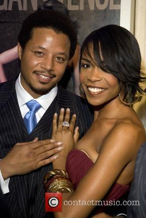 Terrence Howard and Michelle Williams Red Carpet Arrivals for the Niche Media Michigan Avenue Launch Party hosted by Cindy Crawford...