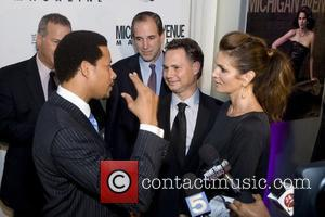 Terrence Howard, Cindy Crawford and Jason Binn Red Carpet Arrivals for the Niche Media Michigan Avenue Launch Party hosted by...