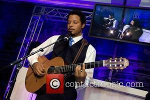 Terrence Howard Performs at the Niche Media Michigan Avenue Launch Party hosted by Cindy Crawford at The James Hotel in...