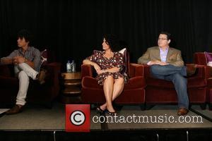 Nick Jonas, Denise Jonas and Kevin Jonas
