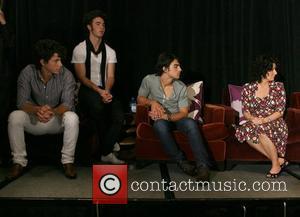 Nick Jonas, Kevin Jonas, Joe Jonas and Denise Jonas