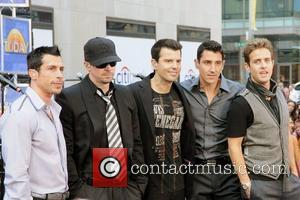New Kids on the Block New Kids on the Block perform live on 'The Today Show's Summer Concert Series' at...