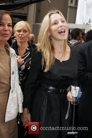 Allison Sarofim and Calvin Klein