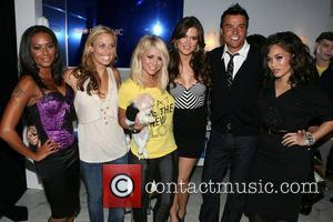 Mel B, Frederique Van Der Wal, Aubrey O'day, Khloe Kardashian and Michael Moloney
