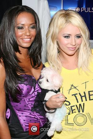 Mel B and Aubrey O'day