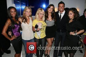 Mel B, Frederique Van Der Wal, Aubrey O'day, Khloe Kardashian and Michael Moloney