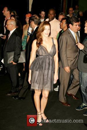 Stephanie Seymour Mercedes-Benz Fashion Week Spring 2009 - Marc Jacobs - arrivals - held at the Armory New York City,...