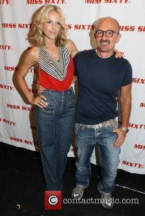 Monet Mazur and Wichy Hassan Mercedes-Benz Fashion Week Spring 2009 - Miss Sixty - Inside arrivals New York City, USA...