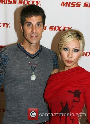 Perry Farrell and Etty Lau Farrell Mercedes-Benz Fashion Week Spring 2009 - Miss Sixty - Inside arrivals New York City,...