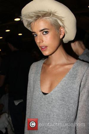 Agyness Deyn and Narciso Rodriguez