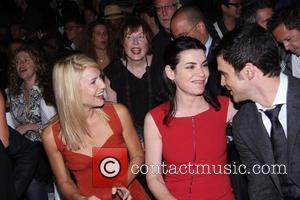 Claire Danes, Julianna Margulies and Narciso Rodriguez