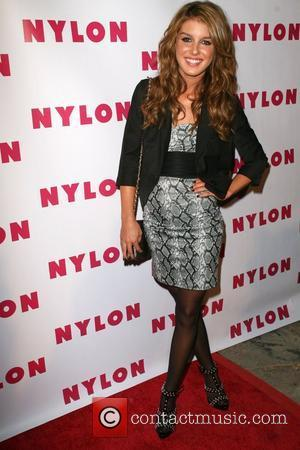 Shenae Grimes Nylon Magazine celebrates the launch of their TV issue at Tropicana in The Roosevelt Hotel Los Angeles, California...