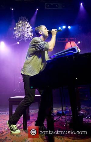 Ryan Tedder OneRepublic performing live at the Forum London, England - 24.09.08