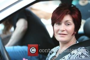 Sharon Osbourne picking up her husband at Nobu Malibu where he got take-out Malibu, California - 04.07.08