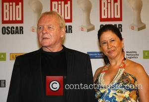 Anthony Hopkins, Stella Hopkins Osgar Awards at Leipziger Rathaus city hall - Red carpet arrivals Leipzig, Germany - 24.06.08