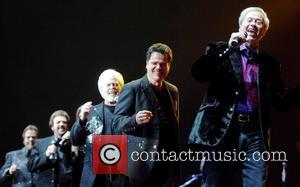 The Osmonds  perform during their 50th anniversary tour at Wembley Arena London, England - 30.05.08