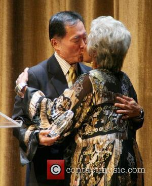 George Takei and Nichelle Nichols