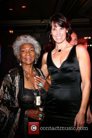 Nichelle Nichols and Alexandra Paul