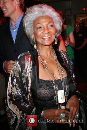 Nichelle Nichols Outfest film festival closing night held at the Orpheum Theatre. Los Angeles, California - 21.07.08