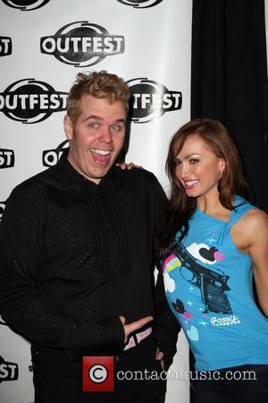 Perez Hilton and Karina Smirnoff