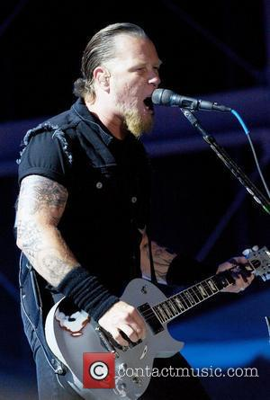 James Hetfield and Ozzfest