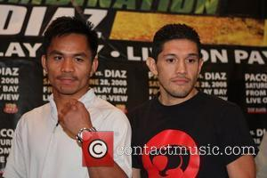 Manny Pacquiao and David Diaz Lethal Combination final press conference for Manny Pacquiao  and David Diaz, held at the...