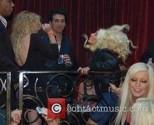 Christina Aguilera and Palms Hotel