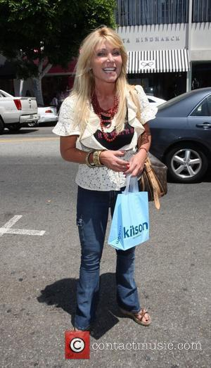 Pamela Bach after shopping in Kitson on Robertson Blvd Los Angeles, California - 26.07.08