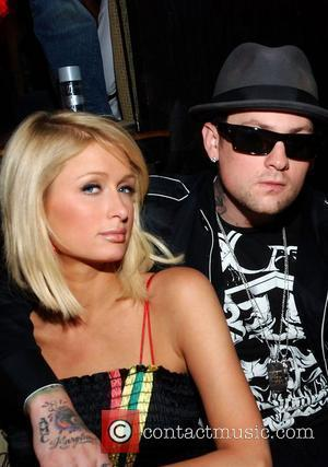 Paris Hilton and Benji Madden celebrate Allison Melnick's Birthday at Tao night club inside the Venetian Hotel Las Vegas, Nevada...
