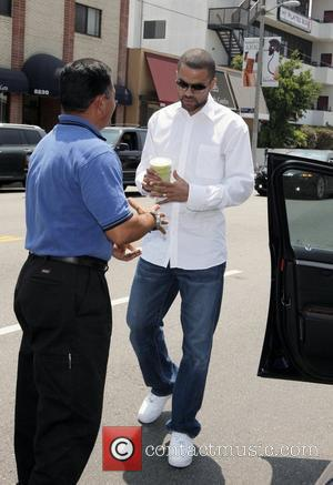 Tony Parker leaving the Toast Bakery Cafe in West Hollywood where he had lunch with his wife and friends Los...