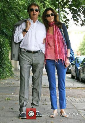 Sir Paul McCartney and Nancy Shevell