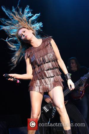 Paulina Rubio performing live in concert at Atlantis, Paradise Island Nassau, Bahamas - 13.09.08