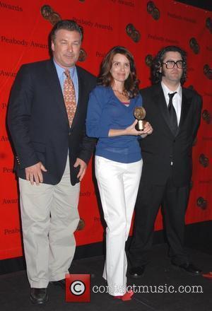 Alec Baldwin, Tina Fey and Judah Friedlander