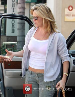 Penny Lancaster out and about in Beverly Hills Los Angeles, California - 17.09.08