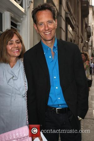 Richard E. Grant Penny Smith hosts a book party to launch her first novel, Coming Up Next London, England -...