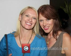 Anneka Rice and Annette Mason