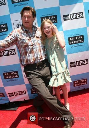 Bill Pullman and Elle Fanning