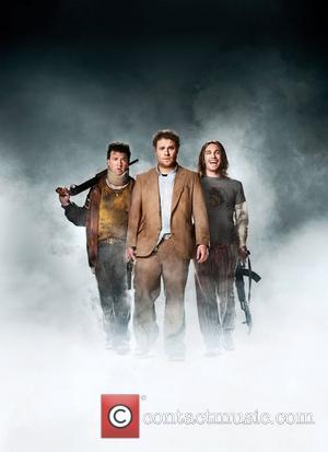 Danny Mcbride, Seth Rogan and James Franco