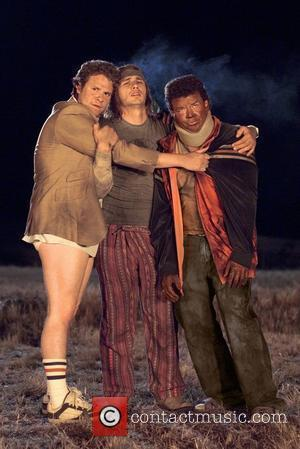 Danny McBride, Seth Rogan, James Franco Pineapple Express (2008) Film Stills USA - July 2008