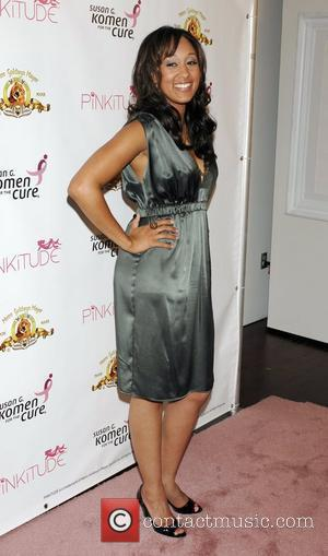 Tamera Mowry PinkiTude fashion brand inspired by MGM's Pink Panther to benefit Susan G. Komen For The Cure at Zune...