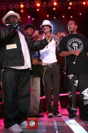 Tommy Lee and Ludacris aka Chris Bridges performing at the Premiere of Discovery Communication's Planet Green Concert at the Greek...